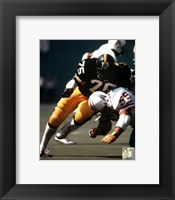 Framed Joe Greene - Action