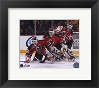 Framed Martin Brodeur - 2007 Multi Exposure