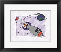Framed Rocketship II
