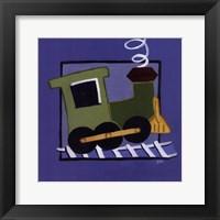 Kiddie Train Framed Print