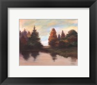 Framed Pine Lake II