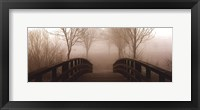 Footbridge Framed Print