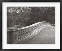 Framed Central Park Bridge