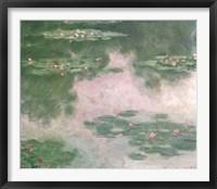Framed Nympheas, Water Landscape, 1907