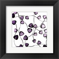 Framed Glass Hearts