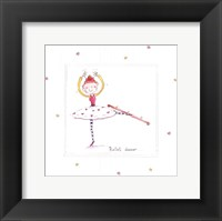 Ballet Dancer Framed Print