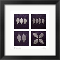 Framed Leaves Study