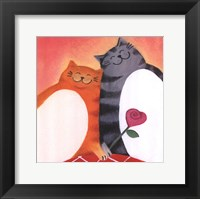 Framed Fat Cats II
