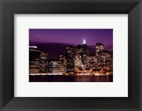 Skyline NYC Framed Print