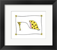 Framed Daisy Delight Shoe
