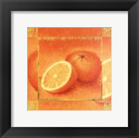 Framed Orange Delight