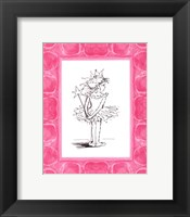 Ballerina Princess Framed Print