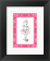 Ballerina Fairy Framed Print
