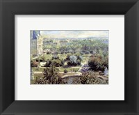 Framed View of Tuileries Gardens