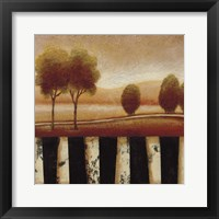 Framed Forest Light I