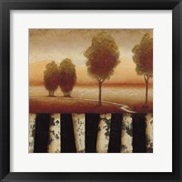 Framed Forest Light II