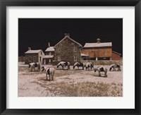 Framed Gypsies at Night