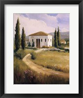 Tuscany Afternoon Framed Print