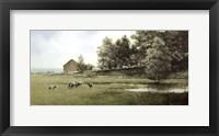 Framed Country Lane