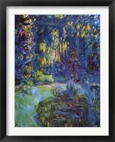 Framed Jardin de Giverny