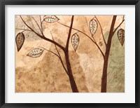 Framed Foliage I