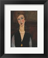 Framed Portrait of a Woman, c.19171918