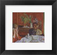 Framed Dessert, or After Dinner, c. 1920