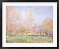 Framed Spring in Giverny