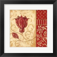 Red Tulip II Framed Print
