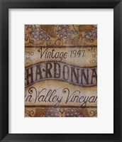 Framed Valley Vineyard I