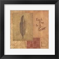 Life - Leaf Framed Print