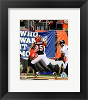 Framed Chad Johnson - 2007 Action