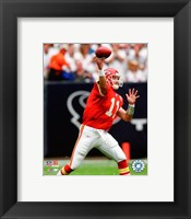 Framed Damon Huard - 2007 Action