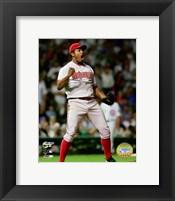 Framed Jose Valverde - '07 NLDS / Game 3
