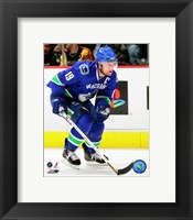 Framed Markus Naslund - '07 / '08 Home Action