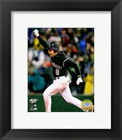 Framed Yorvit Torrealba - '07 NLCS / Game 3 Home Run