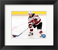 Framed Brian Gionta '07 / '08 Away Action