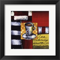 Steeping Tea Framed Print