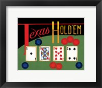 Framed Texas Hold 'Em