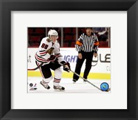 Framed Patrick Kane - 2007 Away Action