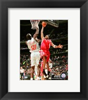 Framed Tracy McGrady - 2007 basket ball