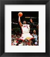 Framed Dwyane Wade - 2007 Action