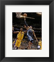 Framed Allen Iverson - 2007 Action