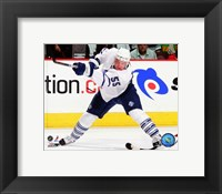 Framed Jason Blake 2007-08 Action