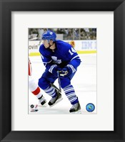 Framed Matt Stajan 2007-08 Action