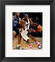 Framed Michael Redd 2007-08 Action