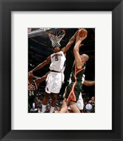 Framed Josh Smith 2007-08 Action