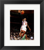 Framed Nate Robinson 2007-08 Action