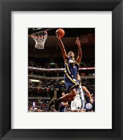Framed Marquis Daniels 2007-08 Action