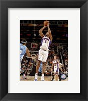 Framed Boris Diaw 2007-08 Action
